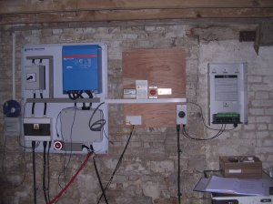 PV and battery control equipment